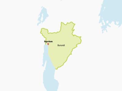 Burundi Map Africa