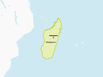 Madagascar Map Africa