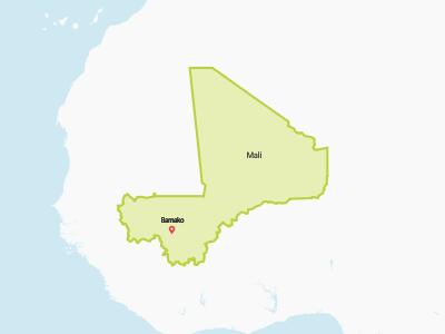 Mali Map Africa