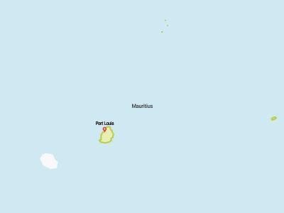 Mauritius Map Africa