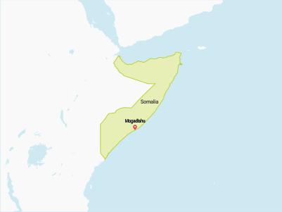 Somalia Map Africa