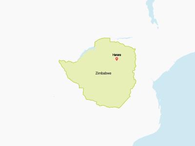 Zimbabwe Map Africa