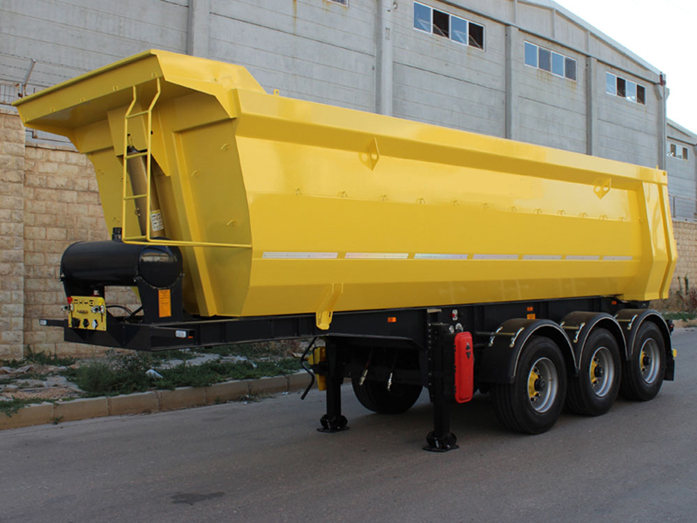 tipper trailer u type